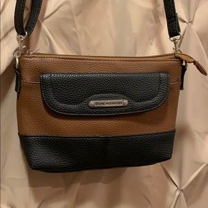 Brown and Black Purse